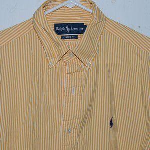 Ralph lauren dress mens shirt size M J1070